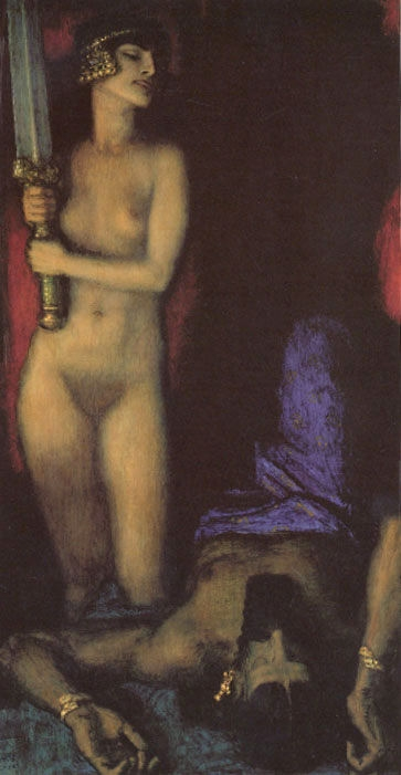 Franz von Stuck   Judith Androgynie en femme fatale bij Franz von Stuck 